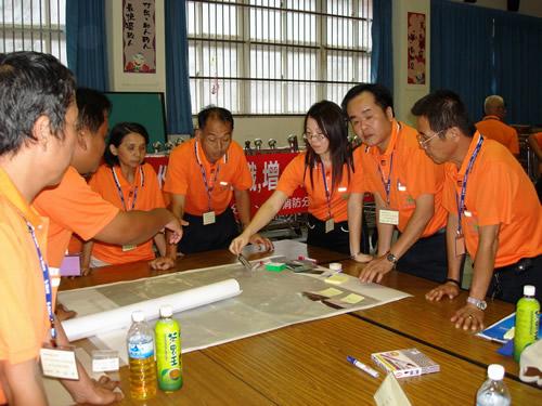 96年防災社區課程照片
